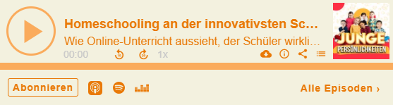 Homeschooling an der innovativsten Schule Deutschlands in der Corona-Zeit